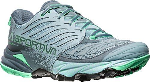 La Sportiva Akasha Shoes Women Stone Blue/Jade Green Schuhgröße 41 2018 Laufschuhe (Ultra Cushion Laufschuhe)