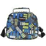 AIHOME Lunchbox Kühltasche Thermotasche Isoliertasche Lunch Tasche Picknicktasche für Arbeit und Schule Picknick 6 Liter