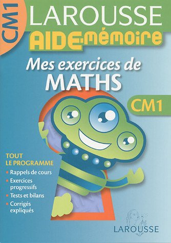 Mes exercices de maths CM1