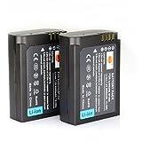 DSTE 2-Pack Rechange Batterie pour Samsung BP1900 ED-BP1900 NX1 Smart Wi-Fi 4K Caméra