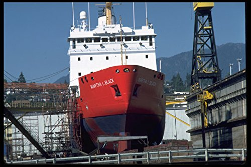 491084-ship-in-dry-dock-vancouver-canada-a4-photo-poster-print-10x8