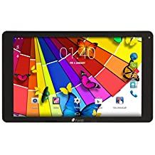 "Time2 10.1"" pulgadas 3G Tablet PC Android, Quad Core, 1280x800 IPS, Dual SIM 3G, 1 GB RAM, 16 GB (hasta 32 GB), Cámara Dual, WiFi+3G / Bluetooth 4.0 / GPS / OTG / 3D, Batería 6000mAh (Negro)"