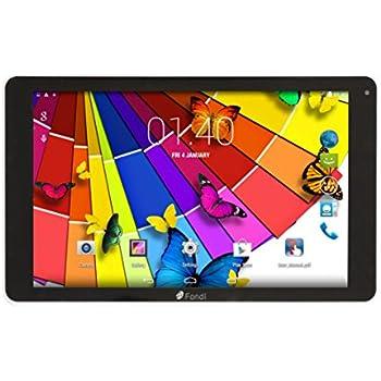 """Tablet de 10.1"""" pulgadas Quad Core 3G Tablet PC Android, HD IPS 1280x800, Dual SIM, 1 GB RAM, 16 GB ( hasta 256GB), Bluetooth 4.0, GPS, 3G, Nero"""