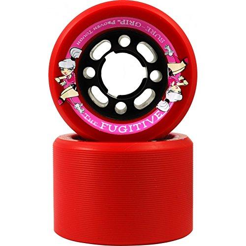 Roller Skates Rollen Sure Grip Fugitive 8er Packung - Mehrere Farben - Rot