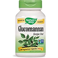 Glucomannan Konjac Root, 665 mg, 100 Vcaps - Nature's Way
