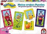 Schmidt Spiele Puzzle 56243 Teletubbies, Meine ersten-Puzzles, 9x2 Konturpuzzleteile