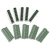 5Pcs 9 polig Printklemme Leiterplatte Leiterplatten Anschlussklemmen