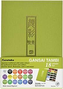 Zig Kuretake Gansai Tambi 18couleur 2