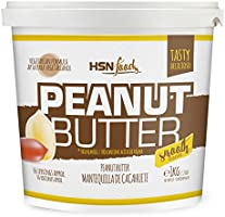 Mantequilla de Cacahuete de HSN | Textura Suave y Cremosa - Peanut Butter Smooth - 100% Natural | Apto Vegetariano, Sin...