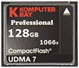 Komputerbay Professional - Memoria Compact Flash de 128 GB (udma 7, 1066x), Negro