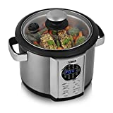 Tower Health T16006 Digital Multi-Cooker With LED Display, 5 Litre, 700 Watt