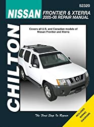 Nissan Frontier & Xterra 2005-08 Repair Manual (Chilton's Total Car Care Repair Manuals) by Jay Storer (2008-01-06)