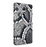 DODOX Snake Skin Pattern Coque Housse Etui De Protection Plastique Dur Ligne Profil Slim pour Samsung Galaxy Note 4 Hard Plastic Case Cover
