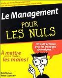 Le management pour les nuls - First Editions - 15/01/2003