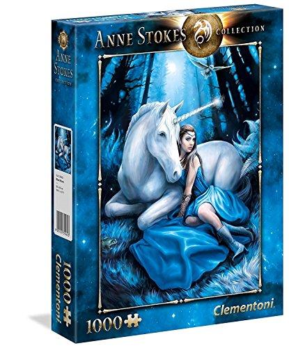 Clementoni- anne stokes puzzle 1000 pezzi, 39462