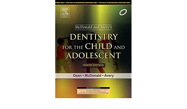 Mcdonald Pediatric Dentistry Pdf