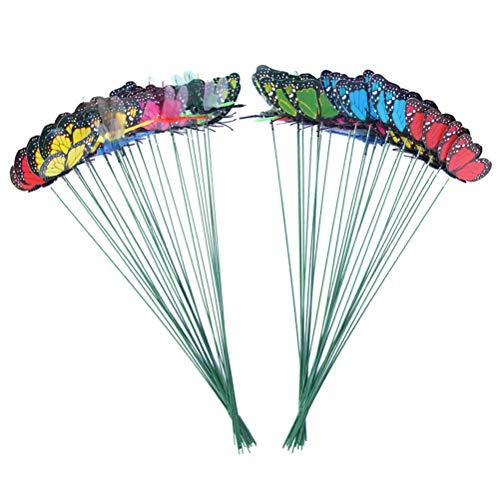 terling Garten Ornamente Schmetterling Libelle Stakes Gartendekorationen Patio Pflanze Rasen Dekor ()