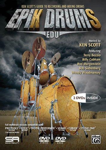 Epik Drums EDU: Ken Scott's Guide to Recording and Mixing Drums [DVD-ROM] [Zubehör]