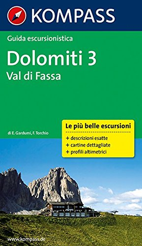 Guida escursionistica Dolomiti, Val di Fassa