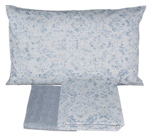 Zucchi Bettwäsche Doppelbett Golden City Blau