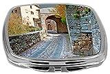 Rikki Knight Compact Mirror, Cobblestone Alleyway, 3 Ounce Amazon