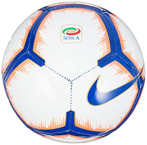 Nike Serie A Skills - Pallone da calcio, colore: bianco/mango/blu royal