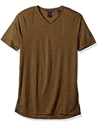 Scotch & Soda Men's V-Neck Tee In multicolour Melange Jersey Quality T-Shirt