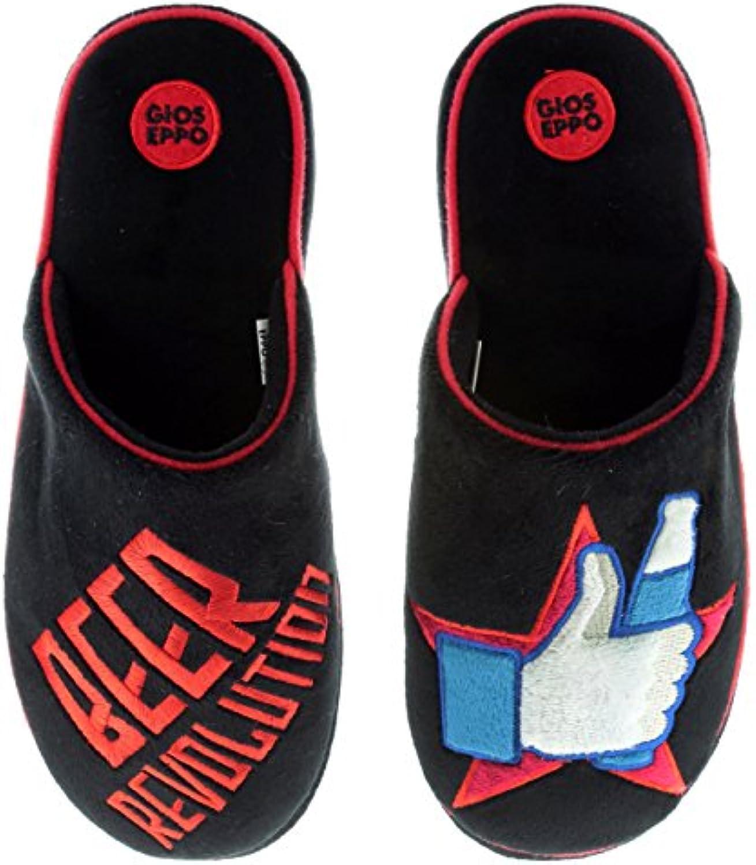Gioseppo Modelo Revolution-Zapatillas de hombre de estar por casa (42)