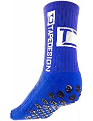 CHAUSSETTE TAPEDESIGN ANTIDERAPANT BLEU - taille : 39-46