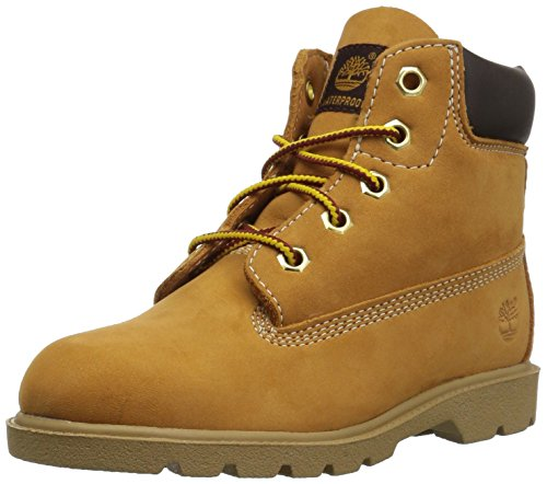 Timberland 6 In Classic Boot FTC_6 In Classic Boot, Unisex-Kinder Halbschaft Stiefel, Braun (Wheat Yellow), 39.5 EU