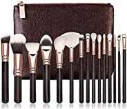 15pcs Complete Eye Set vol.2 Zoeva Professional Organizer Travel Real Techniques Eye Bag Luxury Complete Eyes 15pcs Wool Mak