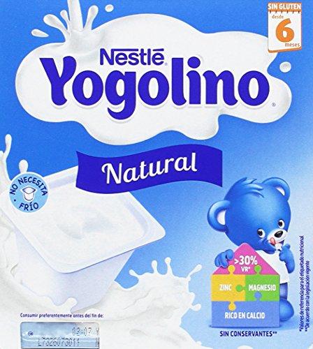 Nestlé Yogolino Postre lácteo Natural, para bebés a partir de 6 meses...