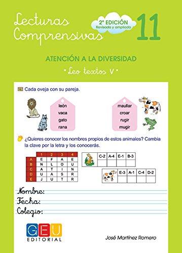 Lecturas compresivas 11 por José Martínez Romero