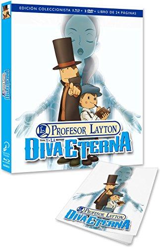 El Profesor Layton Y La Diva Eterna - Edición Coleccionistas [Blu-ray]