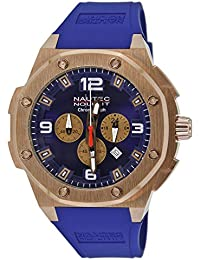 Nautec No Limit Herren-Armbanduhr XL Sailfish Analog Quarz Kautschuk SF QZ/RBRGRGBL