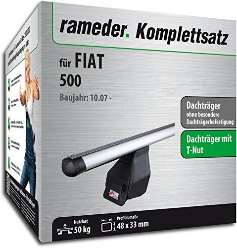 Rameder Komplettsatz, Dachträger Tema für Fiat 500 (118831-06396-2)