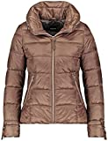TAIFUN Damen Outdoorjacke Steppjacke mit Raffung am Arm Cognac 44