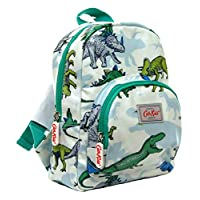 Cath Kidston Kids Mini Rucksack Dinosaurs Design in Off White Oilcloth