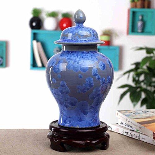 NAUY Jingdezhen Ceramica classica mano sottile di cristallo Glaze Vaso arredamento Home Furnishings Decoration