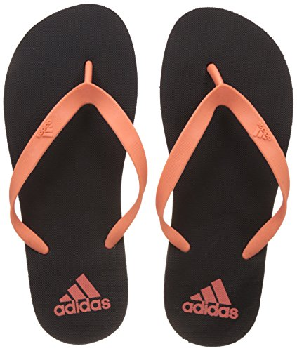 adidas Women's Adi Rib W Cblack and Tacpnk Flip-Flops and House Slippers - 6 UK/India (39.33 EU)  available at amazon for Rs.489