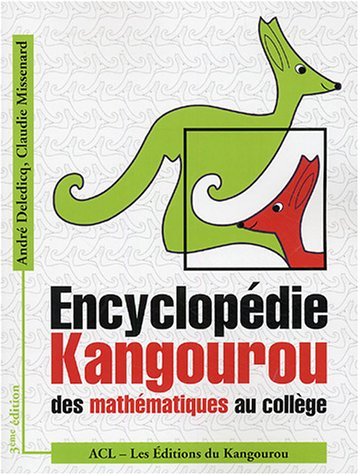 Encyclopédie Kangourou des mathématiques au collège