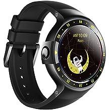 Reloj Ticwatch S Knight Smart Watch,1.4 pulgadas, Pantalla OLED, Android Wear 2.0,Compatible con iOS y Android, Tu Compañero Smart Sports