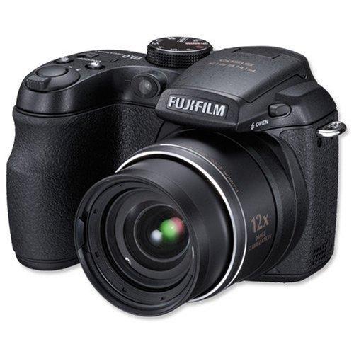 Fujifilm FinePix S1500 Digitalkamera (10 Megapixel, 12fach opt. Zoom, 2.7'' Display, Bildstabilisator) schwarz