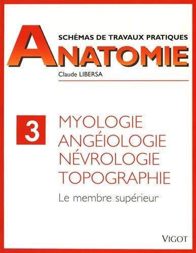 Myologie, angiologie, nvrologie, topographie. Membre suprieur