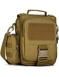 869bee401c5 cinmaul táctico Molle hombro unidades militares Gear bolsa mochila, hombre,  Desert Camouflage