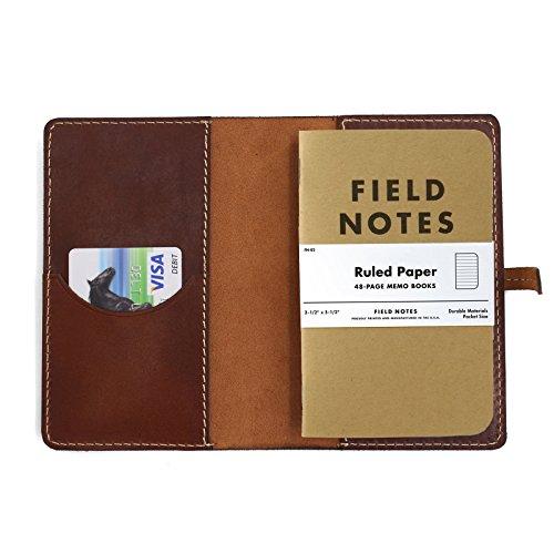 Les voyageurs Journal En Cuir Cover field notes Housse Format De Poche Portable Housse