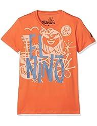 El Niño 13013, Camiseta Para Niños, Naranja (Mandarina), 14 años