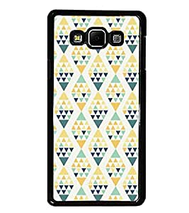 PrintDhaba Pattern D-5219 Back Case Cover for SAMSUNG GALAXY E7 (Multi-Coloured)