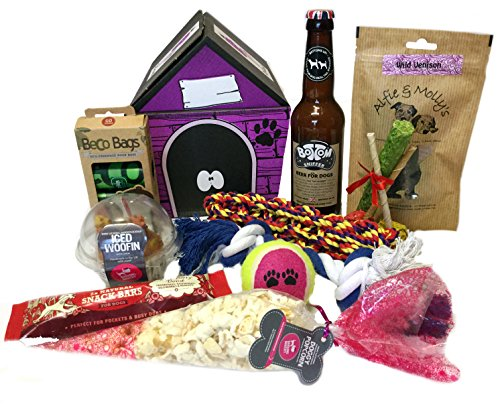 Dog Birthday 'Woofin' cake Gift Hamper
