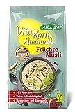 Allos Vita Korn Amaranth Früchte Müsli, 375 g